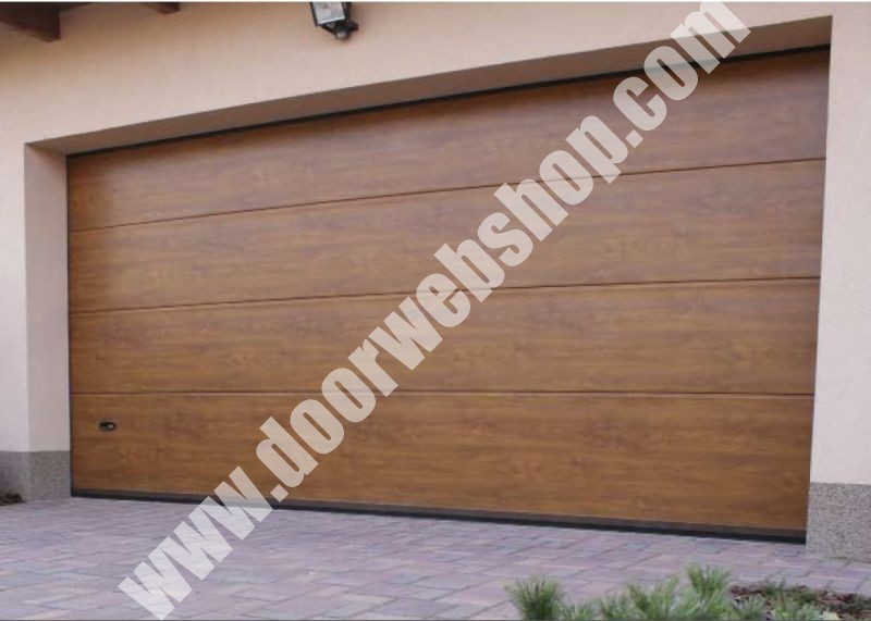 KLING NATURA Deckensektional Garagentore   Farbe: Holzdekor