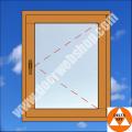 Einflügeliges Holzfenster dreh Flügel Preisvergleich