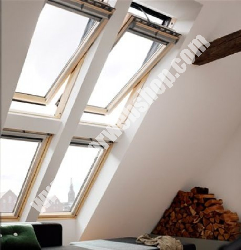 velux ggl 306030 integra solarfenster mit holzrahmen. Black Bedroom Furniture Sets. Home Design Ideas
