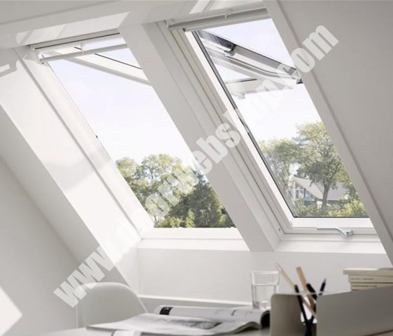 velux gpu 0070 klapp schwingfenster mit kunststoffrahmen. Black Bedroom Furniture Sets. Home Design Ideas