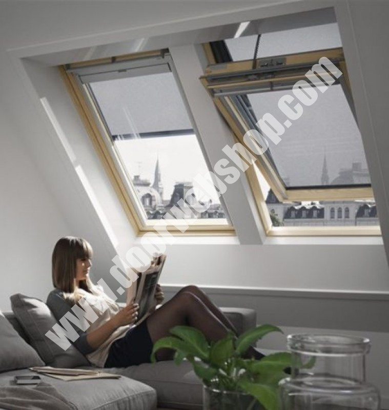 velux ggl 306621 integra elektrofenster mit holzrahmen. Black Bedroom Furniture Sets. Home Design Ideas