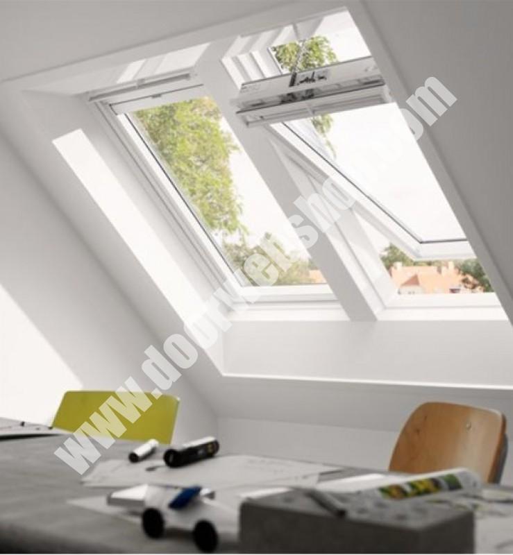 velux ggu 006621 integra elektrofenster mit kunststoffrahmen. Black Bedroom Furniture Sets. Home Design Ideas