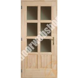 Günstige Holz Nebeneingangstür Preise, Wählbare Verglasung Und  Beschlagsoptionen, Eingangstür Mit Oder Ohne Fertiganstrich
