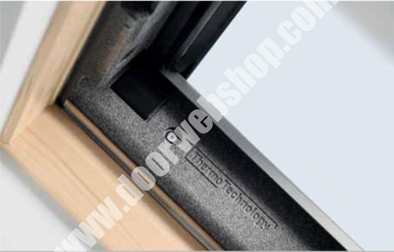 velux gpl 3070 thermo verglasung uw 1 3 w m2k rw 35 db. Black Bedroom Furniture Sets. Home Design Ideas
