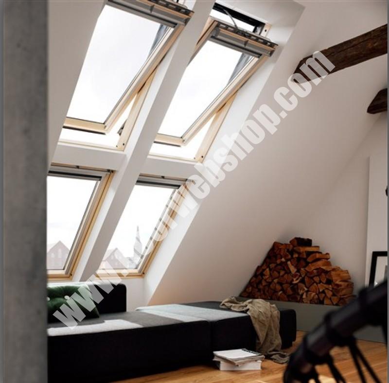velux ggl 306021 integra elektrofenster mit holzrahmen. Black Bedroom Furniture Sets. Home Design Ideas