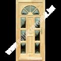 NAPSUGÁR - Glas beide Seiten - Holz Haustür Nebeneingangstür