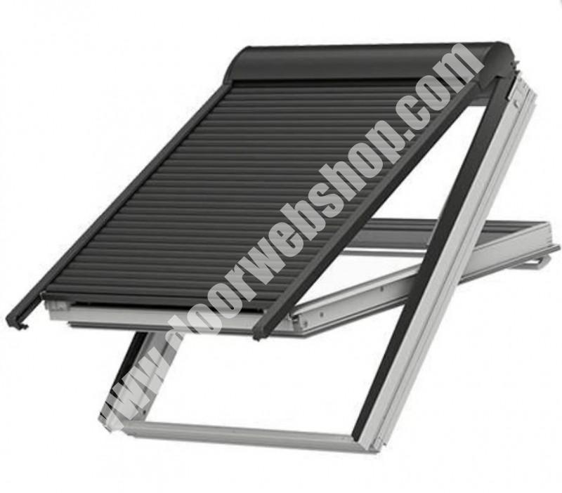 velux shl g nstige handbetriebene rolll den kein kurbelantrieb. Black Bedroom Furniture Sets. Home Design Ideas