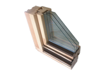 DELTA-Therm Top 92 Holzfenster Uw=1.0 natur